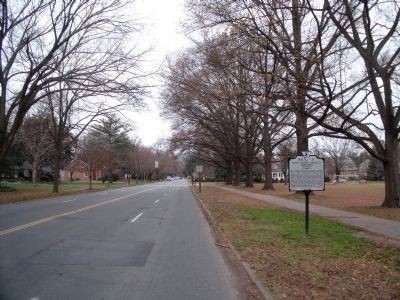 Cary Street Road (facing west) image. Click for full size.