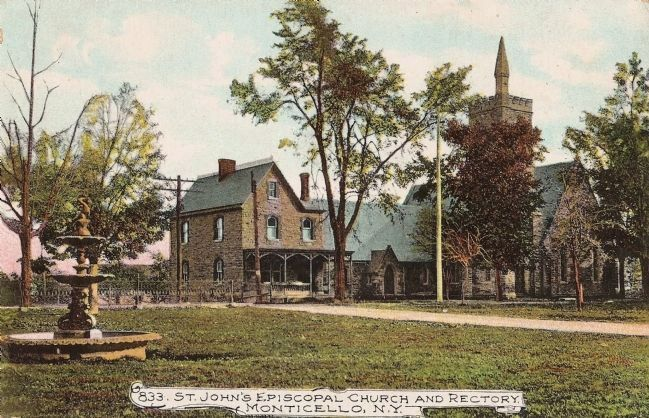 St. John's Episcopal Church and Rectory image. Click for full size.
