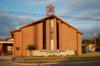 Mount Olive Baptist Church image. Click for full size.