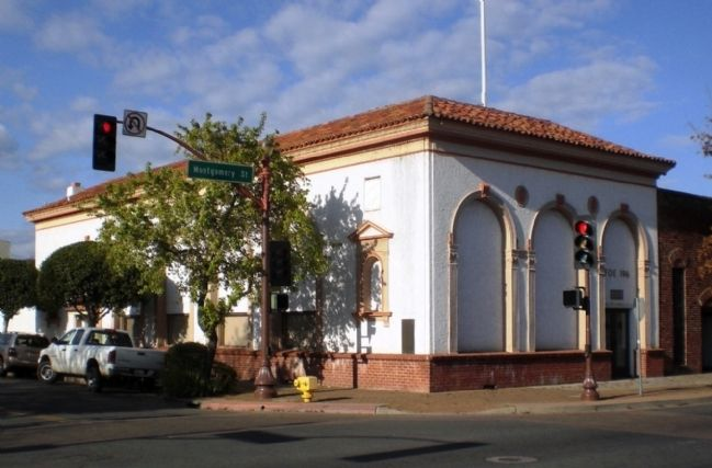 Eagle Building (formerly Bank of Italy Building), Oroville image. Click for full size.