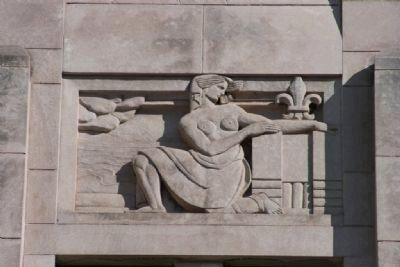 Jefferson County Courthouse Sculputed Relief 3 by Artist Leo Friedlander image. Click for full size.