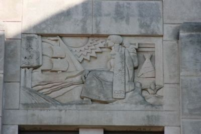Jefferson County Courthouse Sculputed Relief 7 by Artist Leo Friedlander image. Click for full size.