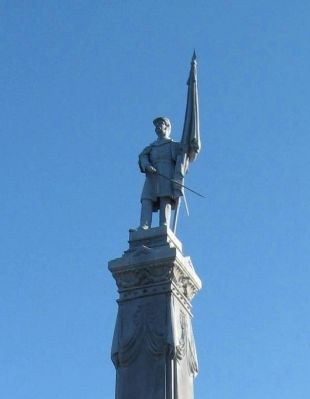 Stratford Civil War Memorial image. Click for full size.