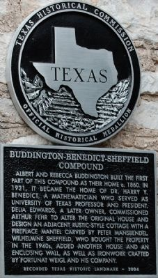 Buddington-Benedict-Sheffield Compound Marker image. Click for full size.