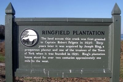 Ringfield Plantation Marker image. Click for full size.