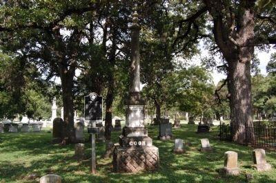 Abner Hugh Cook Gravestone and Marker Photo, Click for full size