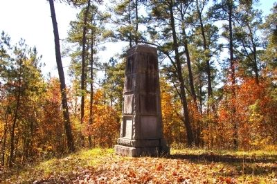 The Battle of Kettle Creek Monument image. Click for full size.