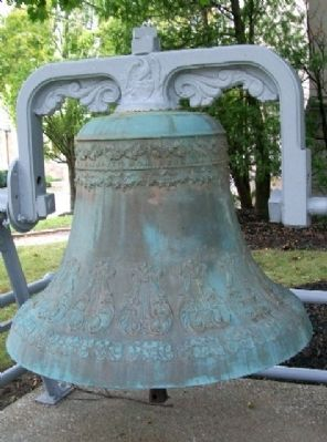 Ashland County Courthouse Bell image. Click for full size.