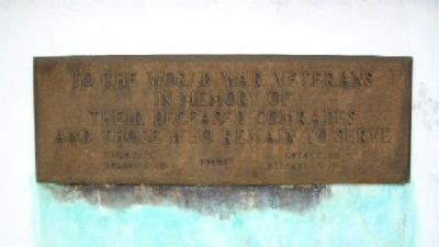 Ashland County World War Memorial Marker image. Click for full size.