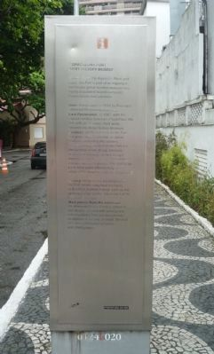 Copacabana Fort - Army History Museum Marker image. Click for full size.