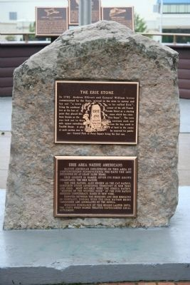 Erie Area Native Americans Marker image. Click for full size.