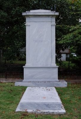 J. Strom Thurmond<br>Tombstone and Monument image. Click for full size.