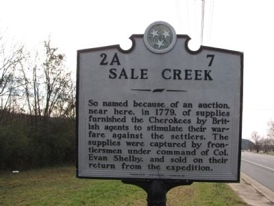 Sale Creek Marker image. Click for full size.