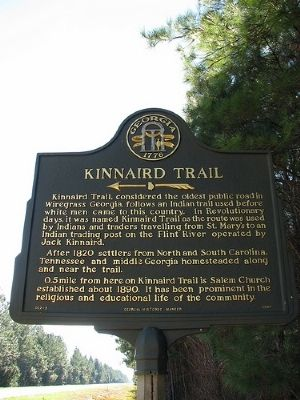 Kinnaird Trail Marker image. Click for full size.