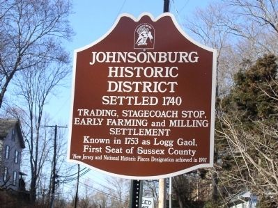 Johnsonburg Marker image. Click for full size.