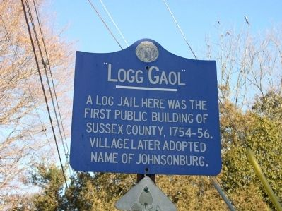Logg Gaol Marker image. Click for full size.