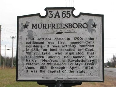 Murfreesboro Side Photo, Click for full size