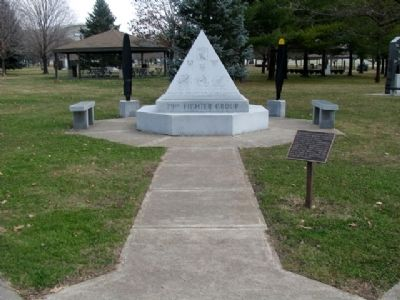 79th Fighter Group Memorial image. Click for full size.