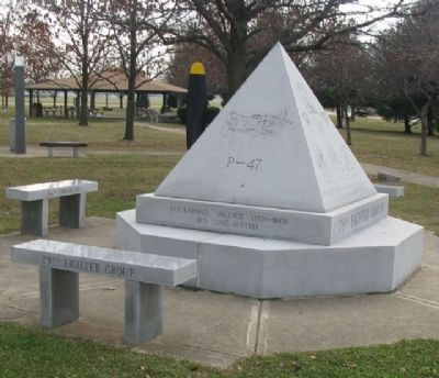 79th Fighter Group Memorial North Face image. Click for full size.