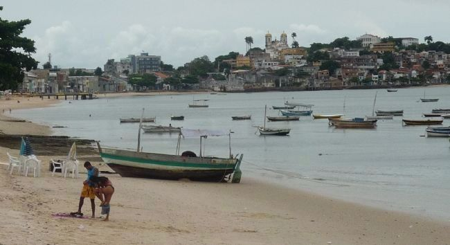 View from beach at Largo do Papagalo image. Click for full size.
