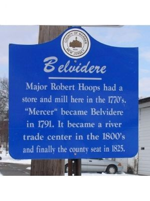 Belvidere Marker image. Click for full size.