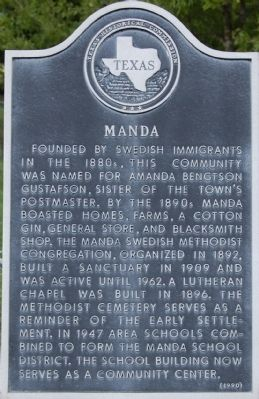 Manda Marker image. Click for full size.