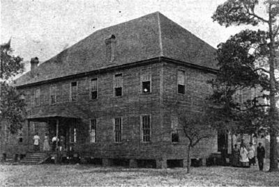 Early Bettis Academy<br>Main School Building, Chapel, and Recitation Rooms<br>No Longer Standing image. Click for full size.