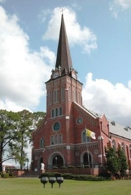 St. Mary Magdalen Catholic Church image. Click for full size.