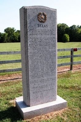 Texas State Memorial, Battle of Raymond Photo, Click for full size