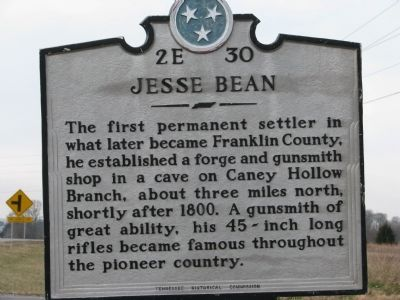 Jesse Bean Marker Photo, Click for full size