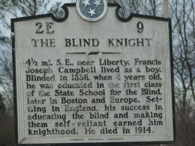 The Blind Knight Marker Photo, Click for full size