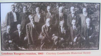 Loudoun Rangers at a 1903 Reunion image. Click for full size.