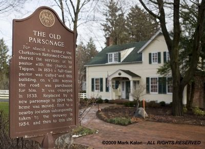 The Old Parsonage Marker Photo, Click for full size