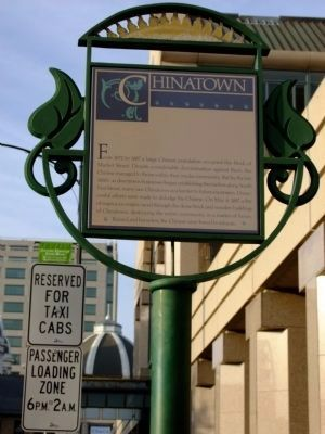 Chinatown Marker image. Click for full size.