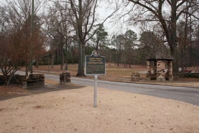 Cahaba Project Marker & Gazebo image. Click for full size.