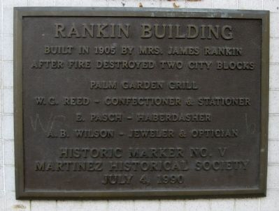 Rankin Building Marker image. Click for full size.