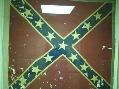 Confederate Battle Flag in the University of the South Library Photo, Click for full size