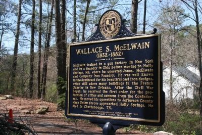 Wallace S. McElwain Marker image. Click for full size.