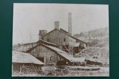 Irondale Furnace after the Civil War. image. Click for full size.