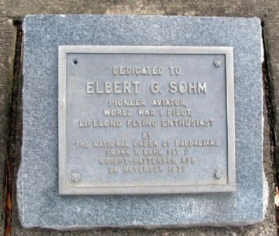 Elbert G. Sohm Marker image. Click for full size.