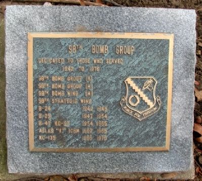 98th Bomb Group Marker image. Click for full size.
