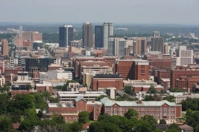 Downtown Birmingham. The observation deck provides panoramic views of the area. image. Click for full size.