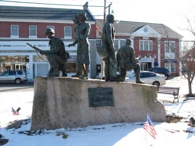 Milford World War II Memorial Photo, Click for full size