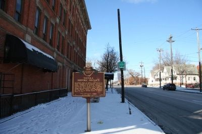 Vistula Historic District Marker image. Click for full size.