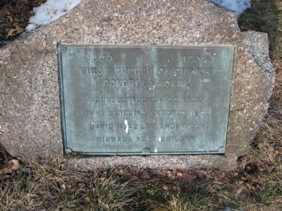 Marker at the right corner of the church image. Click for full size.
