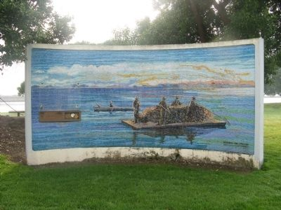 San Leandro Oyster Beds Mural image. Click for full size.