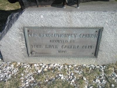 Old Revolutionary Cannon Marker image. Click for full size.