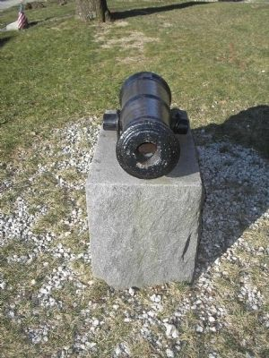 Closeup of the Old Revolutionary Cannon image. Click for full size.