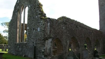 St Mary's Abbey Church Ruins image. Click for full size.