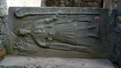 St Mary's Abbey Church Tomb Engraving image. Click for full size.